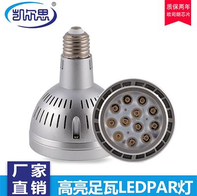 餐饮射灯Par20可以分为高透玻璃和磨砂面的表面吗