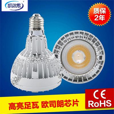 餐饮射灯Par20可以根据需要将LED灯制成点光源