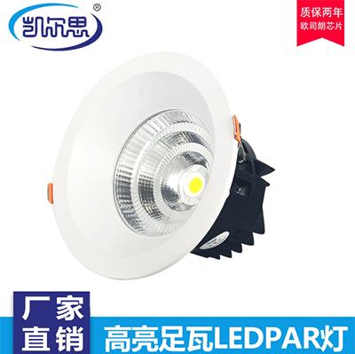 所有餐饮射灯Par20照明设计均使用基本照明